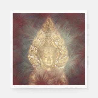 golden buddha napkins