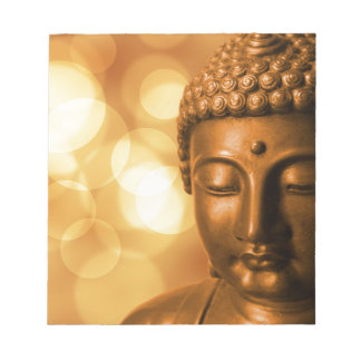 Golden Buddha Notepad
