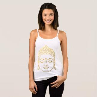 Golden Buddha Spaghetti Strap Tank Top