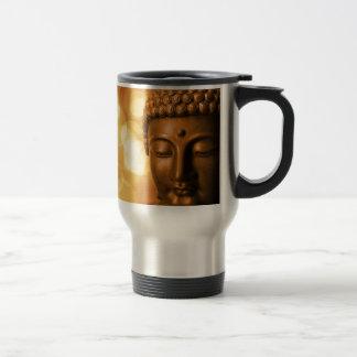 Golden Buddha Travel Mug