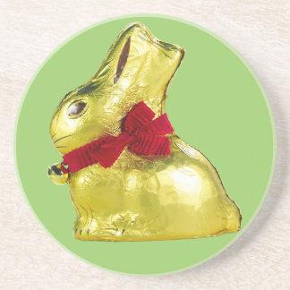 Golden Bunny Coaster
