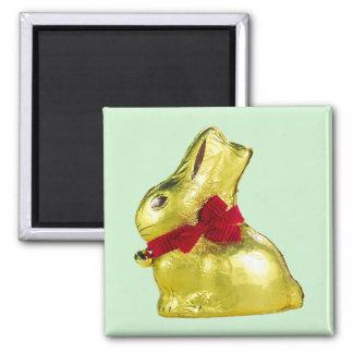 Golden Bunny Magnet