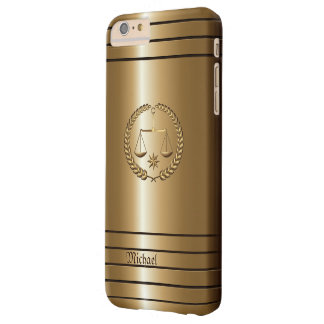 Golden Business & Legal Lawyer Barely There iPhone 6 Plus Case