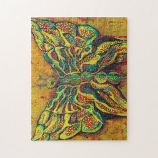 Golden Butterfly Designer Puzzle With Gift Box