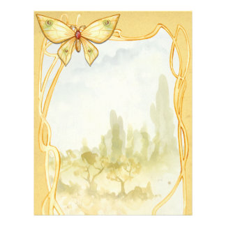 Golden Butterfly Spell Page