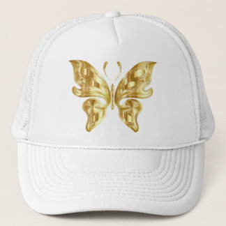 GOLDEN BUTTERFLY TRUCKER HAT