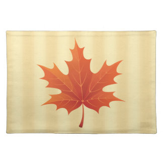 Golden Canadian Place Mat