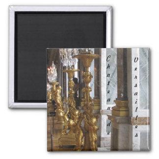 Golden Candelabras, Chateau de Versailles Magnet