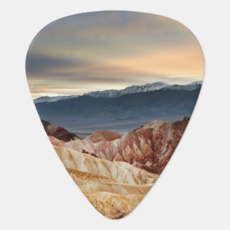 Golden Canyon at Sunset Guitar Pick