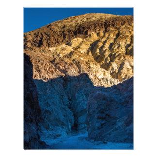 Golden Canyon Sunrise - Death Valley - California Letterhead
