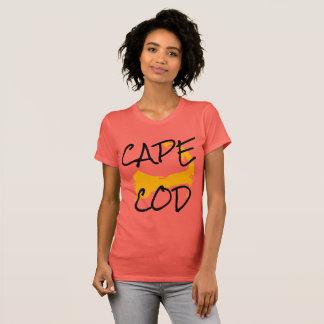 Golden Cape Cod Massachusetts shirt for women