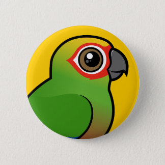 Golden-capped Parakeet 2 Inch Round Button