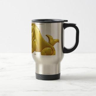 Golden Capricorn Travel Mug