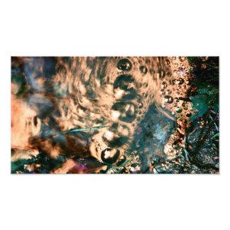 Golden Centipede Photo Art