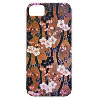 Golden Cherry Blossom Case For The iPhone 5