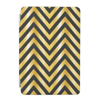 Golden chevron grandiose art deco iPad mini cover