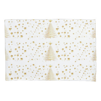 Golden Christmas Set - Single Pillowcase
