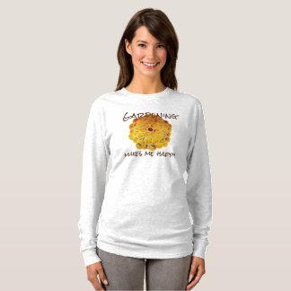 Golden Chrysanthemum Garden Happiness T-Shirt