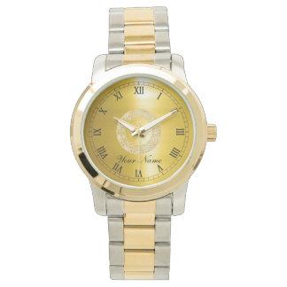 Golden Circle Watch
