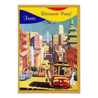 Golden City By The Bay San Francisco Invitations