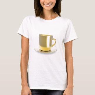 Golden coffee cup T-Shirt