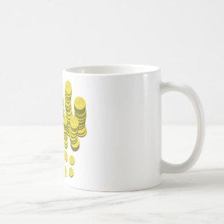 Golden Coins Coffee Mug