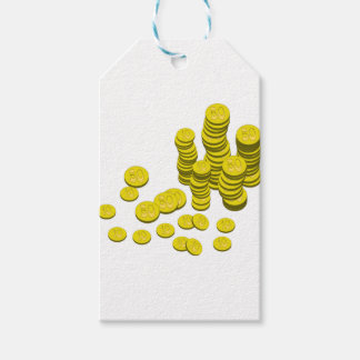 Golden Coins Gift Tags