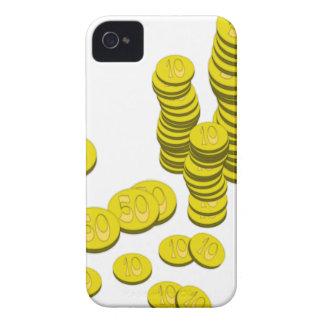Golden Coins iPhone 4 Case