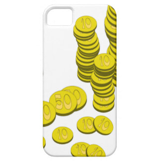 Golden Coins iPhone 5 Covers