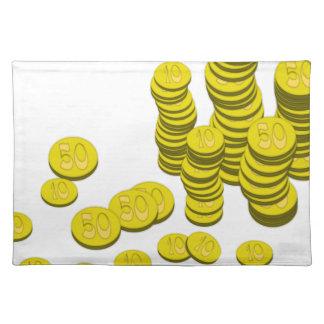 Golden Coins Placemat