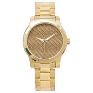 Golden Color Glamorous Stainless Steel Watch