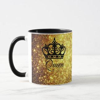 Golden Color Queen Mug
