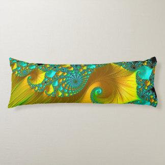 Golden Cone Body Cushion Bedroom Design