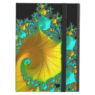 Golden Cone iPad Case Design
