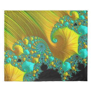Golden Cone King Duvet Cover Bedroom Design