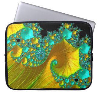 Golden Cone Laptop Sleeve Design