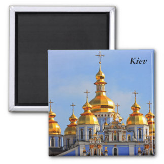 Golden copes of in cathedral in Kiev, Kiev Magnet