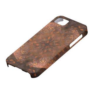 Golden Copper Shimmer iPhone 5 Case