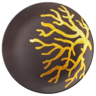 Golden Coral Plate