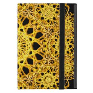 Golden Cross Mandala iPad Mini Case