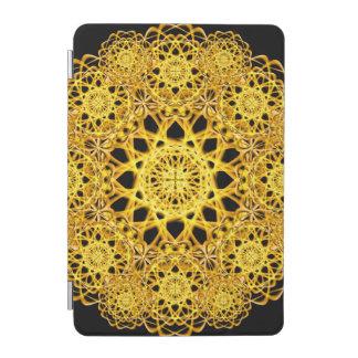 Golden Cross Mandala iPad Mini Cover