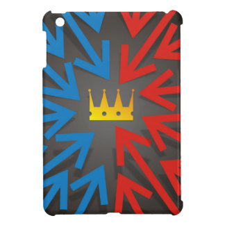 Golden crown cover for the iPad mini