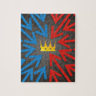 Golden crown jigsaw puzzle
