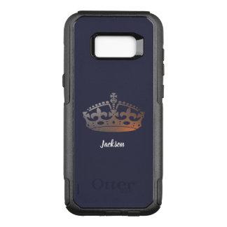 Golden Crown OtterBox Commuter Samsung Galaxy S8+ Case