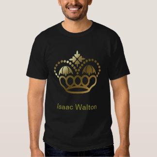 Golden crown Tee SHirt - Isaac Walton