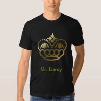 Golden crown Tee SHirt - Mr. Darcy