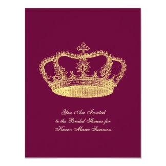 Golden Crowns Card