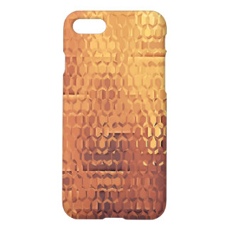 Golden Custom iPhone 7 Matte Case