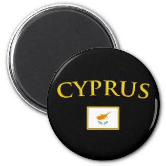 Golden Cyprus Magnet