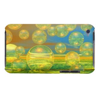 Golden Days - Yellow & Azure Tranquility iPod Touch Cases